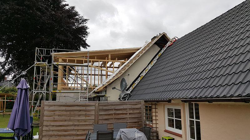 Zimmerei Grosskreutz - Dachkonstruktionen / Abbund